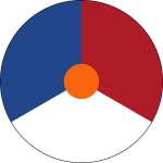 Roundel of the Royal Netherlands Air Force