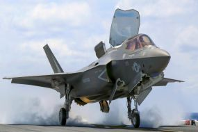 F-35B Short Take Off and Vertical Landing (STOVL) variant