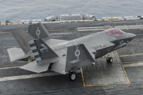 F-35C variant for use on aircraft carriers