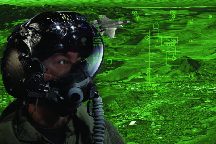 Helmet Mounted Display systems (HMD)