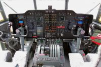 Cockpit of the C-130H Hercules