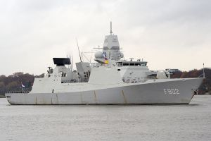Air-Defence and Command Frigate HNLMS De Zeven Provincien